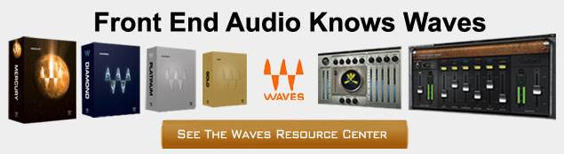 Waves Software at Front End Audio